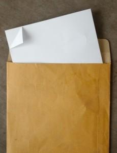 открыть письмо